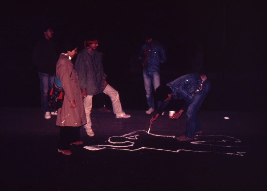 Accident, 1980 (Performance, Bandung, Indonesia) photo courtesy of Tyler Rollins Gallery