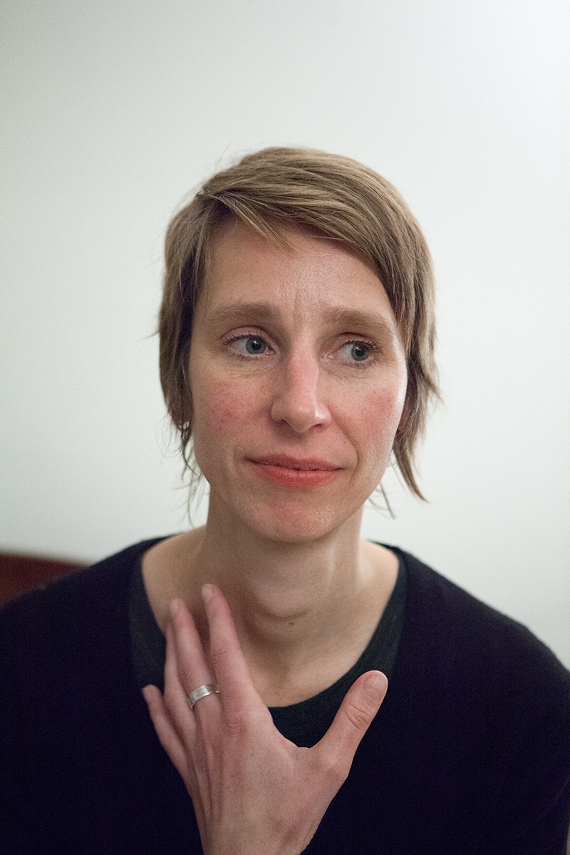 Bettina Lockemann in New York City in February 2015 © 2015 by Susan Silas