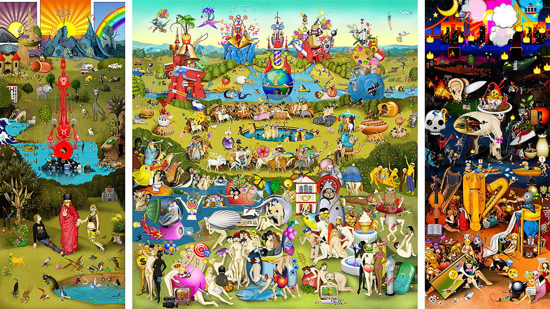 The Garden of Emoji Delights, 2014